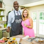 John cooks w/ HOME & FAMILY on the Hallmark Channel